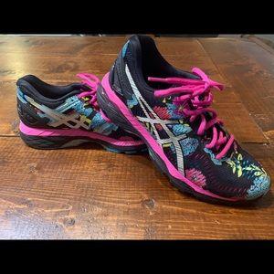 Asics Gel Kayano 23 Floral Running Shoes